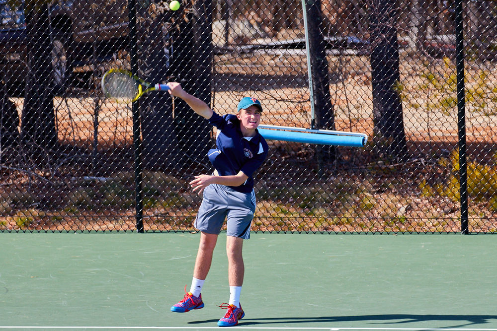Boys Tennis vs. Holderness School -  April 16, 2016   17171.jpg