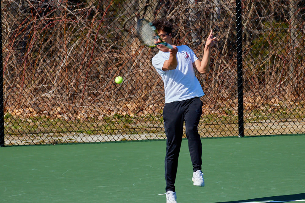 Boys Tennis vs. Holderness School -  April 16, 2016   17204.jpg