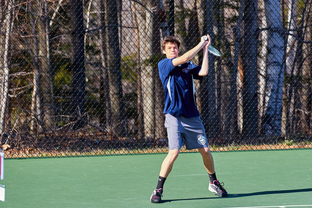 Boys Tennis vs. Holderness School -  April 16, 2016   17278.jpg