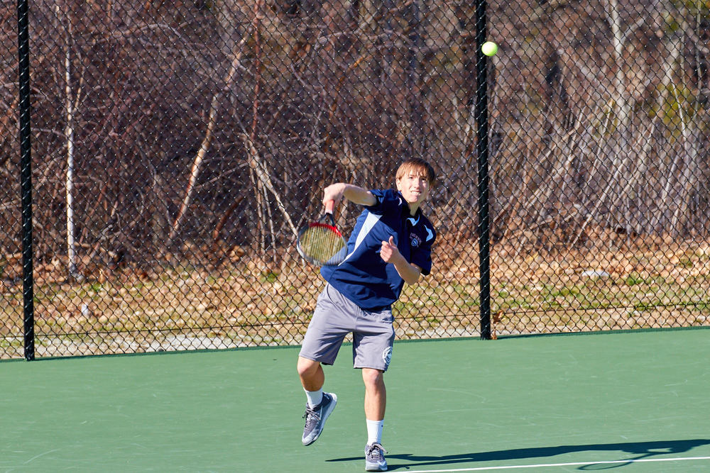 Boys Tennis vs. Holderness School -  April 16, 2016   17310.jpg