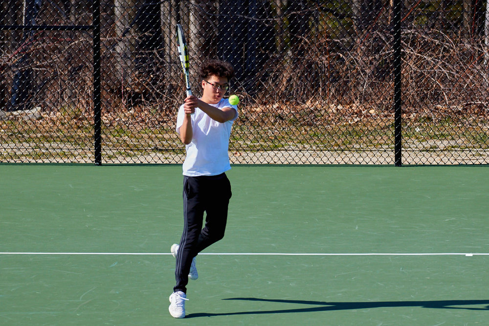 Boys Tennis vs. Holderness School -  April 16, 2016   17327.jpg