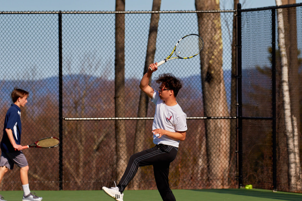 Boys Tennis vs. Holderness School -  April 16, 2016   17376.jpg