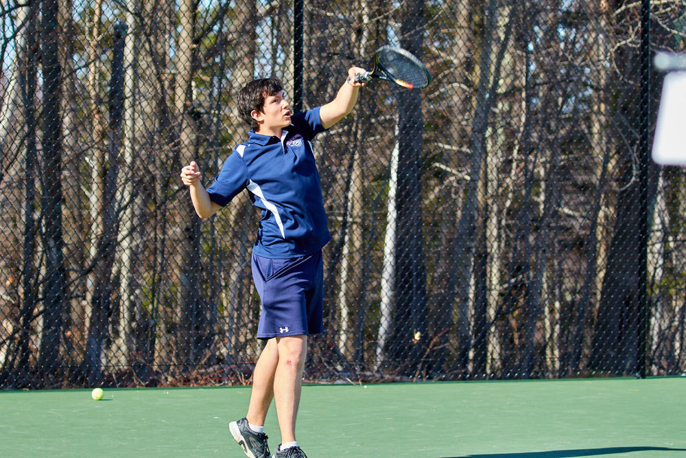 Boys Tennis vs. Holderness School -  April 16, 2016   17389.jpg
