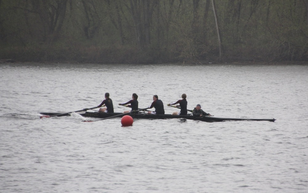 The Girls' Novice Boat.