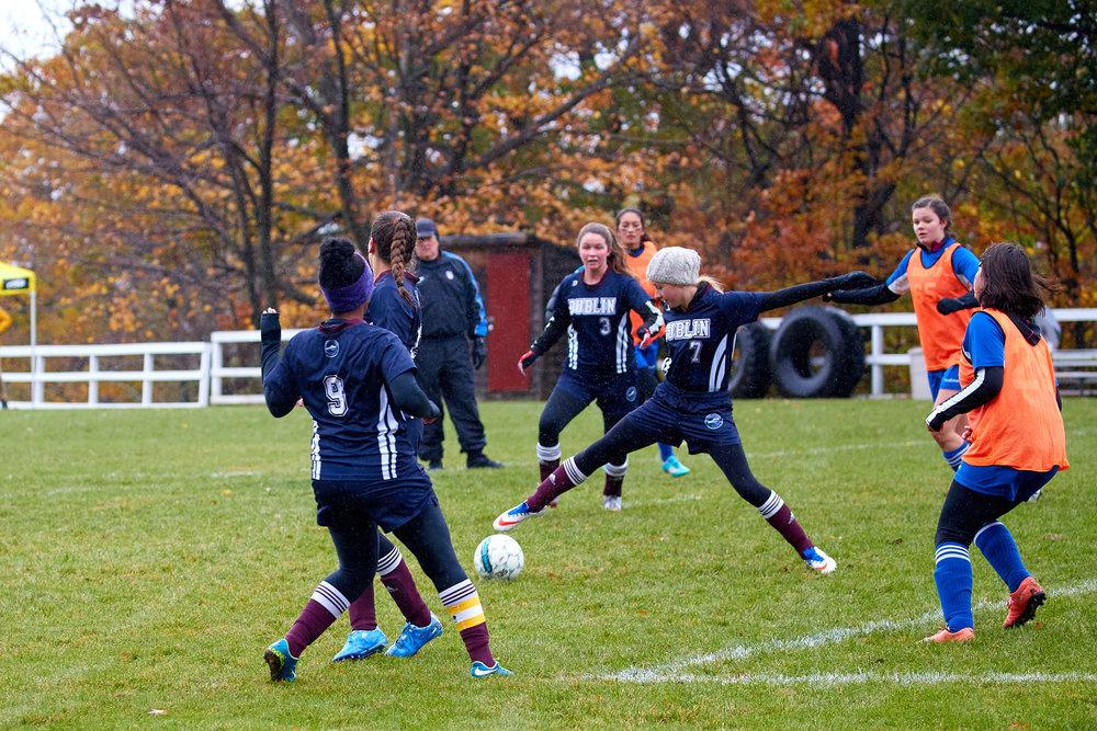 Girls Varsity Soccer vs. Four Rivers Charter Public School - October 28, 2016   - 54158.jpg