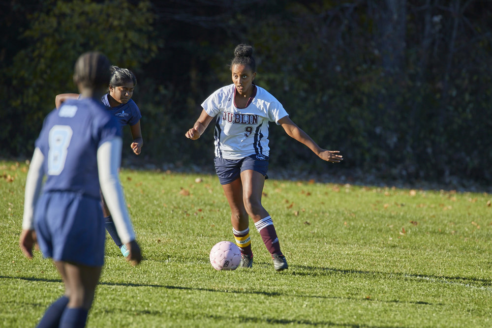 Girls Varsity Soccer vs. Stoneleigh Burnham School - October 31, 2016  - 031.jpg
