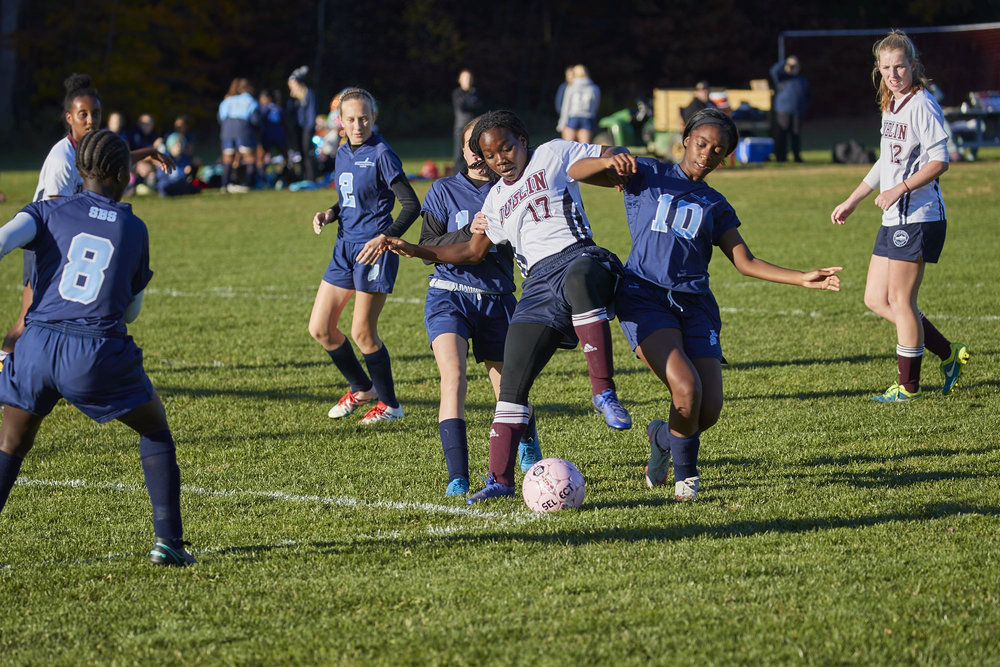 Girls Varsity Soccer vs. Stoneleigh Burnham School - October 31, 2016  - 041.jpg