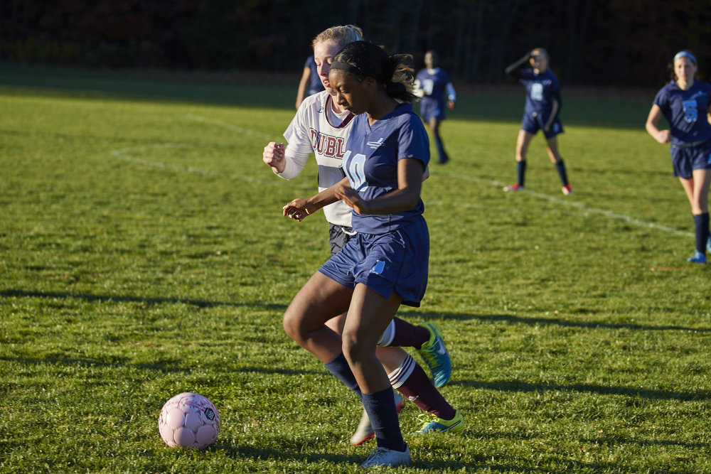 Girls Varsity Soccer vs. Stoneleigh Burnham School - October 31, 2016  - 045.jpg