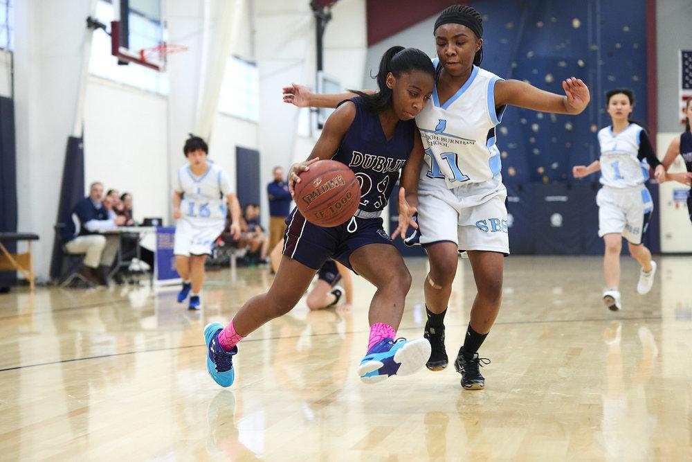 Girls JV Basketball vs. Stoneleigh Burnham School Tournament - January 11, 2017 - 34075023.jpg