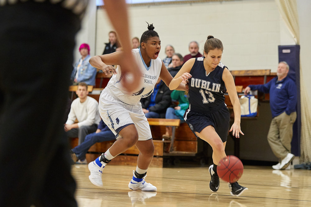 Girls Varsity Basketball vs. Stoneleigh Burnham School - January 14, 2017.jpg