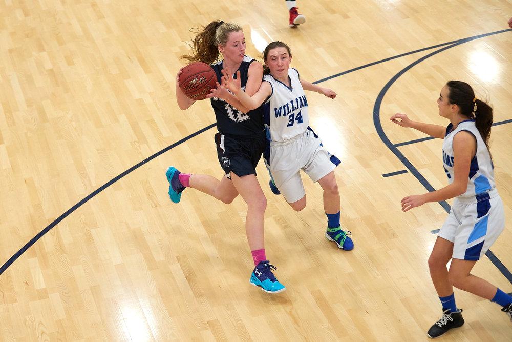 Girls Varsity Basketball vs. The Williams School  - January 27, 2017 -  12508.jpg