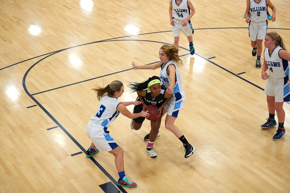 Girls Varsity Basketball vs. The Williams School  - January 27, 2017 -  12560.jpg