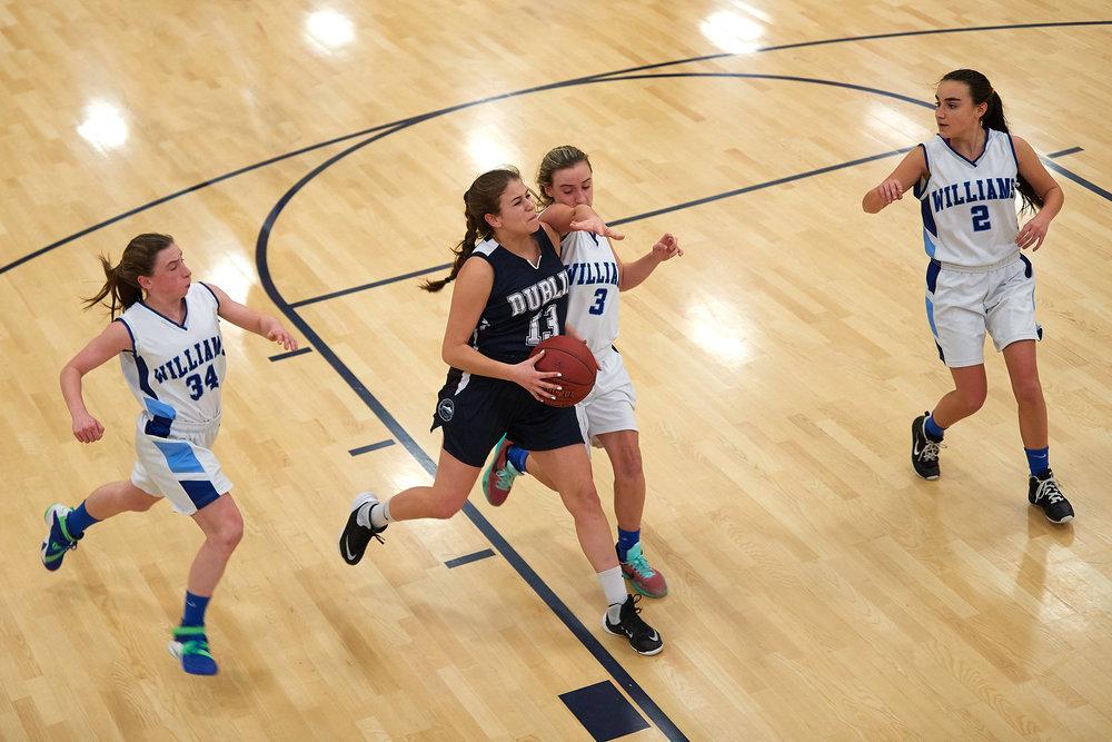 Girls Varsity Basketball vs. The Williams School  - January 27, 2017 -  12655.jpg