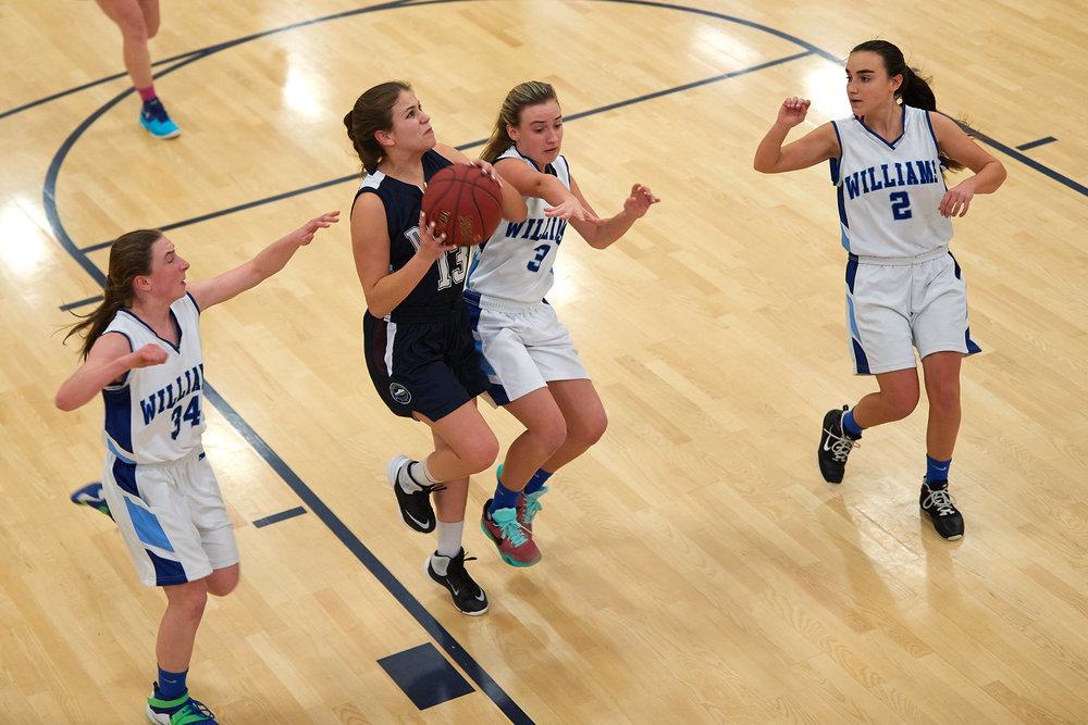 Girls Varsity Basketball vs. The Williams School  - January 27, 2017 -  12657.jpg