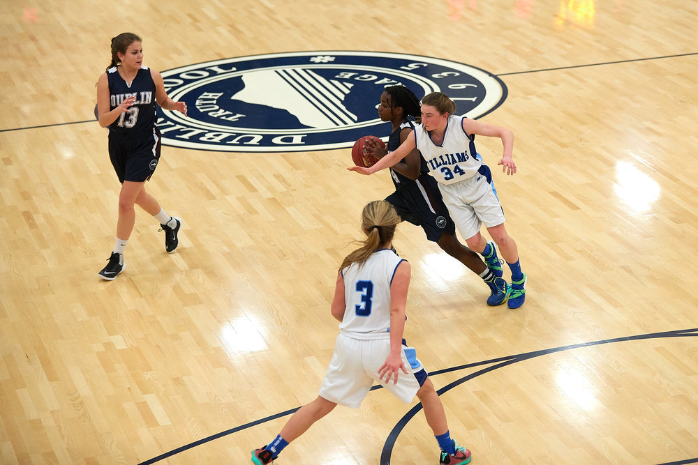 Girls Varsity Basketball vs. The Williams School  - January 27, 2017 -  12703.jpg