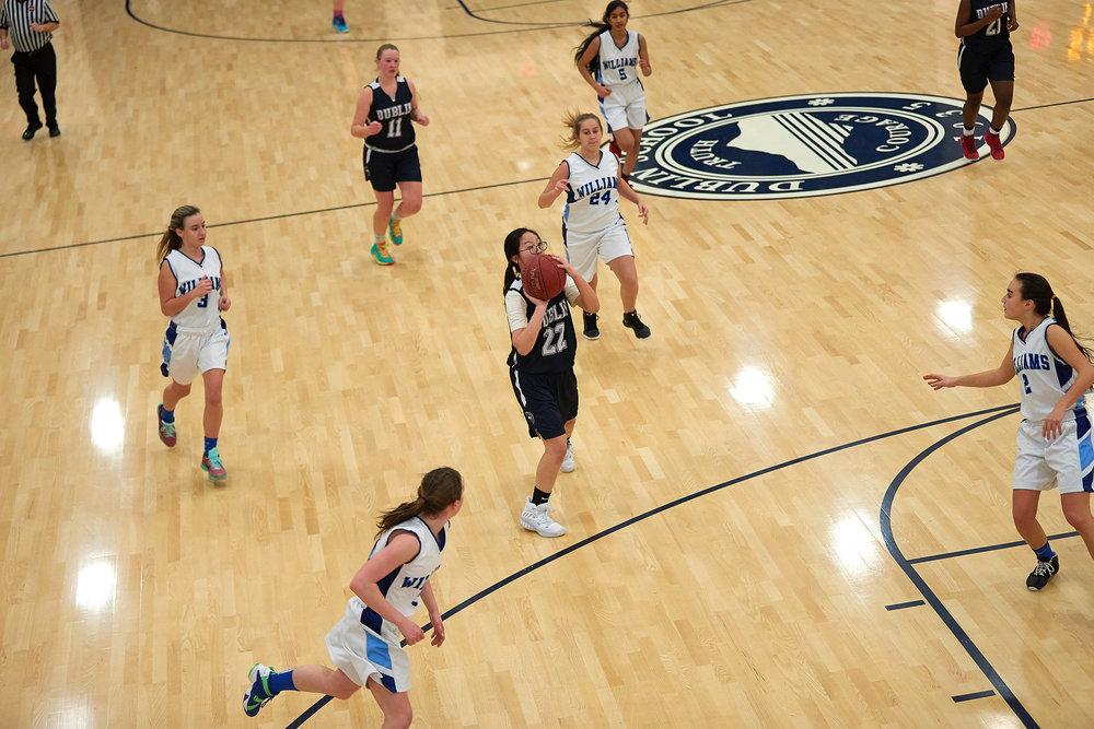 Girls Varsity Basketball vs. The Williams School  - January 27, 2017 -  12761.jpg