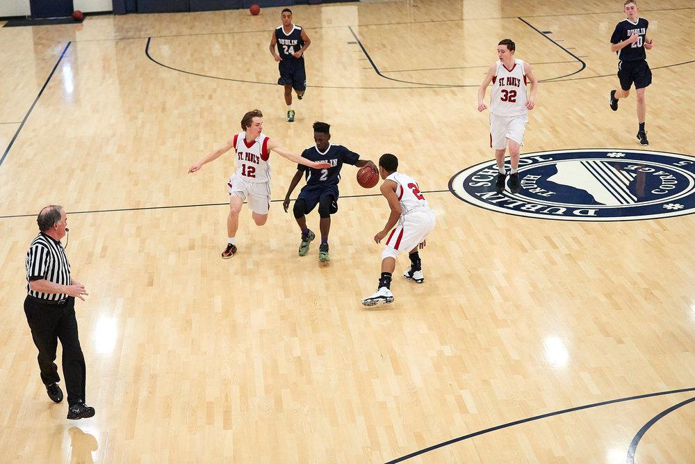 Boys Varsity Basketball vs. St. Paul's School  - February 11, 2017- 005.jpg