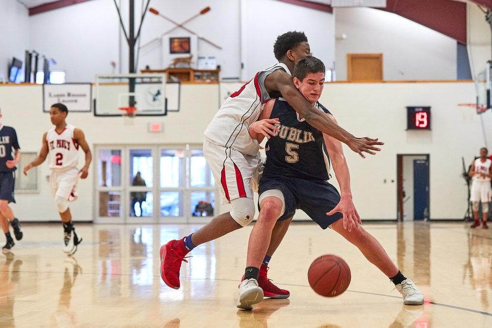 Boys Varsity Basketball vs. St. Paul's School  - February 11, 2017- 059.jpg
