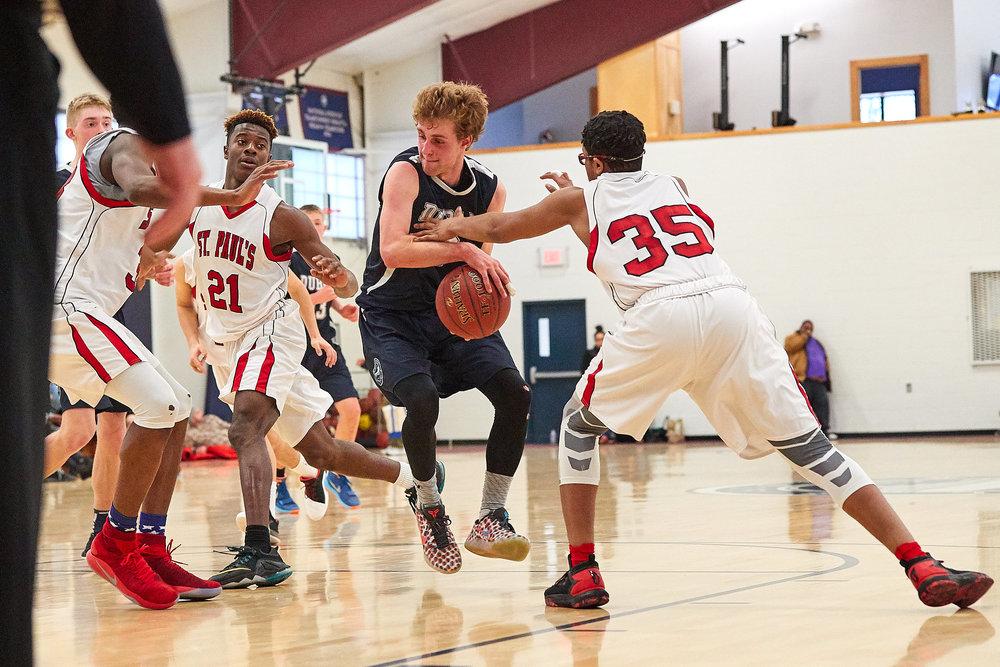 Boys Varsity Basketball vs. St. Paul's School  - February 11, 2017- 066.jpg