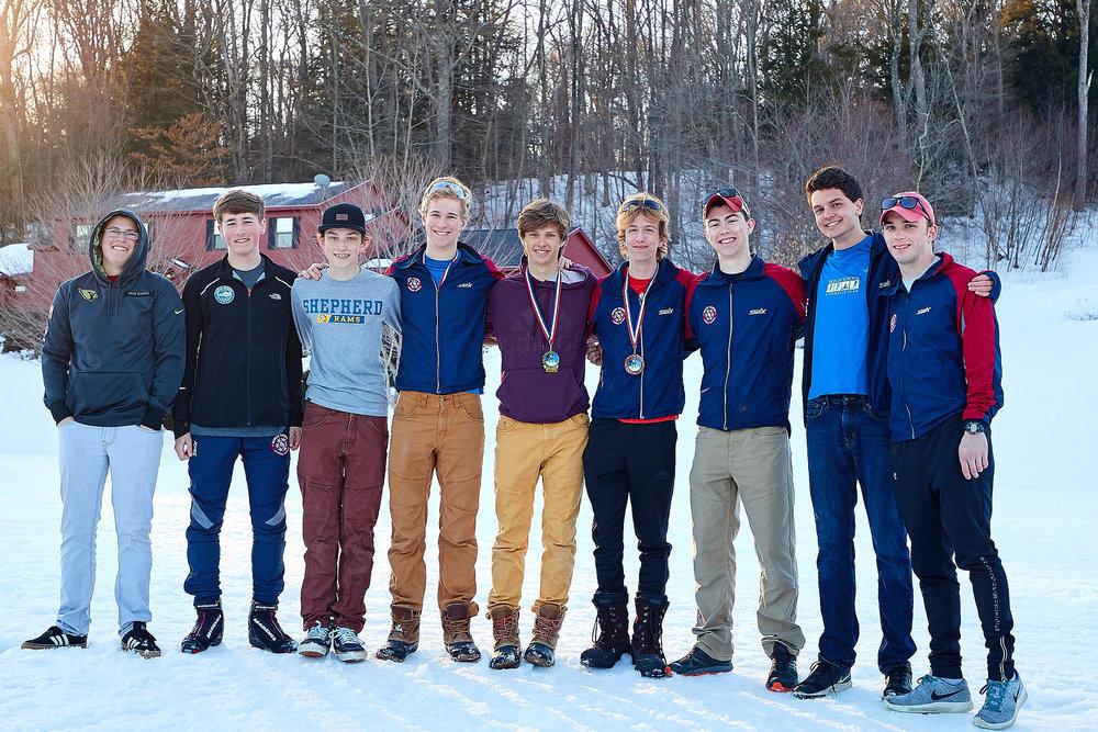 NEPSAC Champions - Goltz, Franklin, Allen,Werowinski, Bates, Wilson, Hyde, Lewis and Simon.