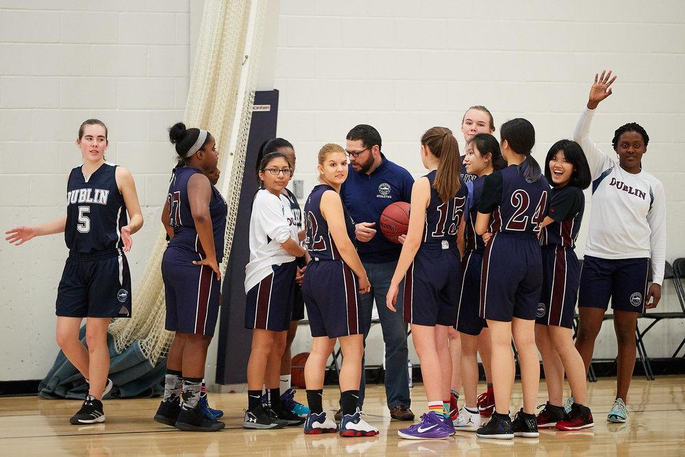 Girls JV Basketball vs. Putney School  - February 24, 2017 -  31681.jpg