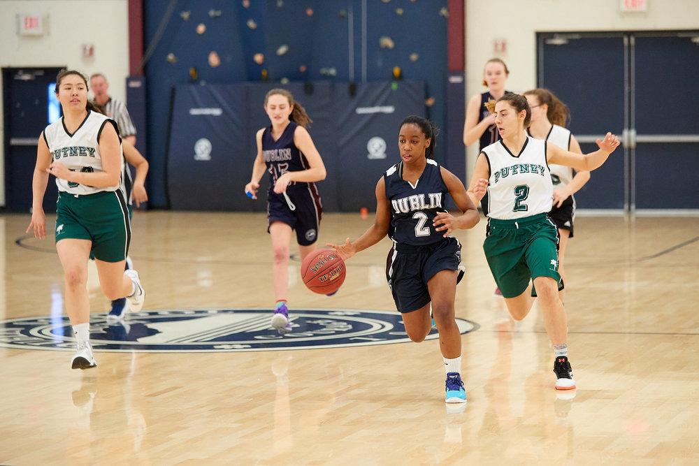 Girls JV Basketball vs. Putney School  - February 24, 2017 -  31695.jpg
