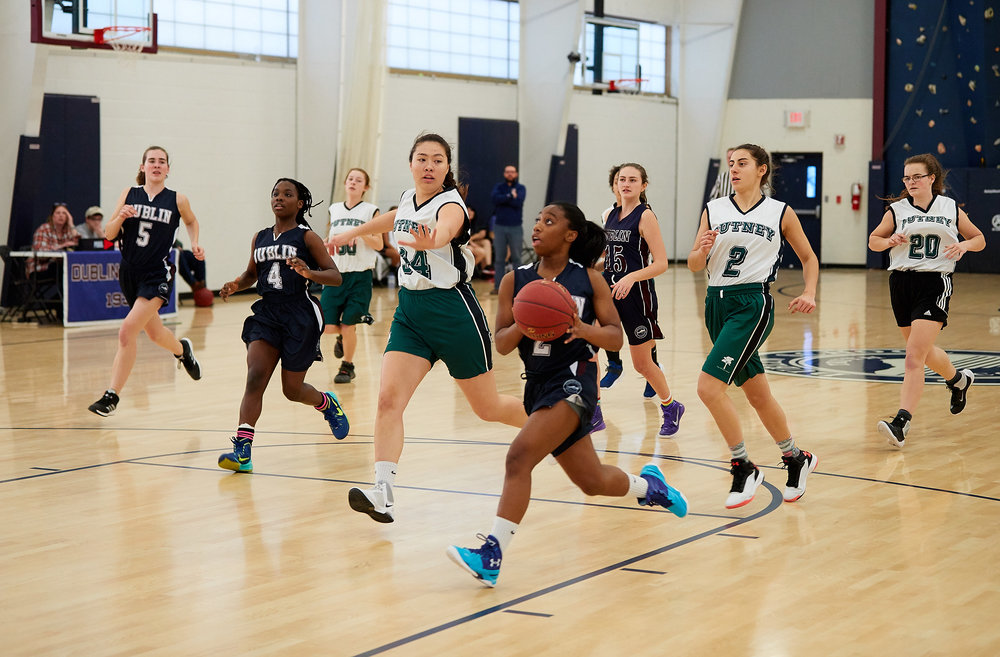 Girls JV Basketball vs. Putney School  - February 24, 2017 -  31700.jpg
