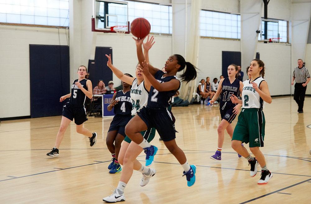 Girls JV Basketball vs. Putney School  - February 24, 2017 -  31704.jpg