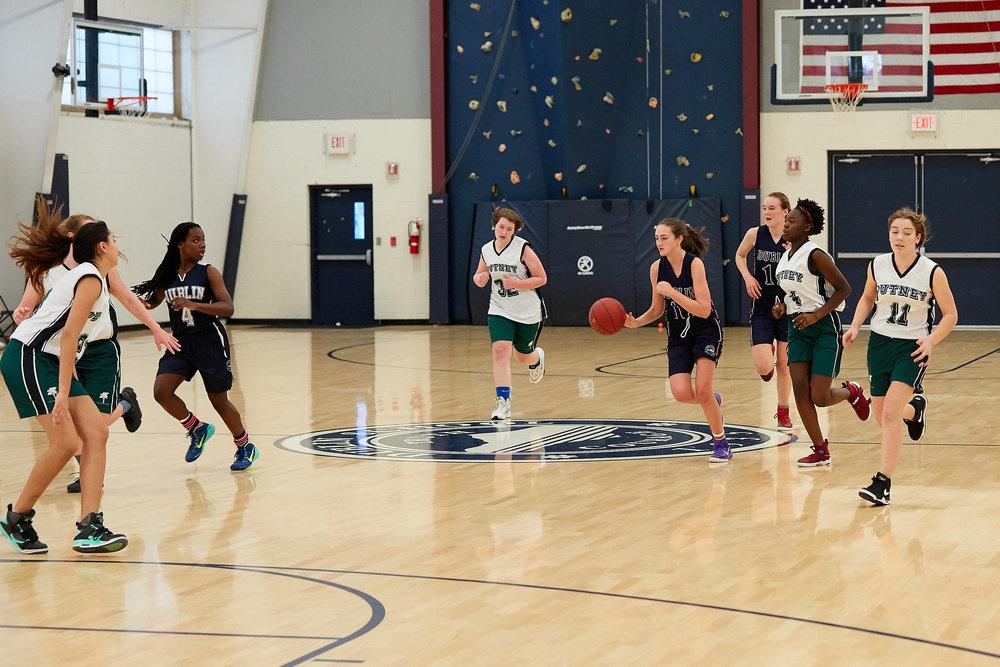 Girls JV Basketball vs. Putney School  - February 24, 2017 -  31731.jpg