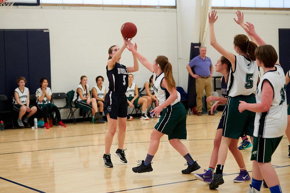 Girls JV Basketball vs. Putney School  - February 24, 2017 -  31753.jpg