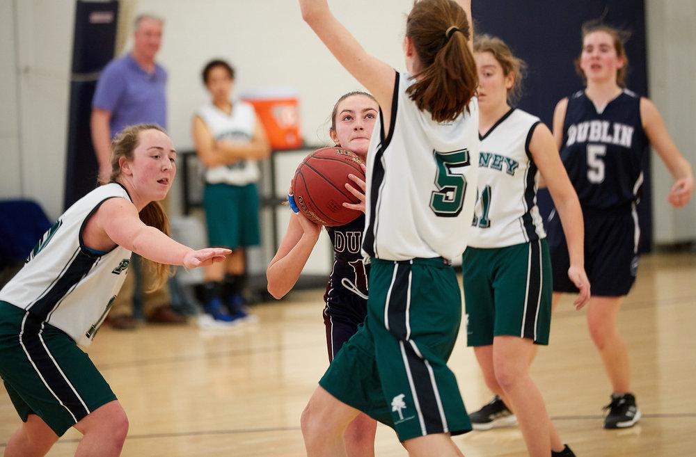 Girls JV Basketball vs. Putney School  - February 24, 2017 -  31756.jpg