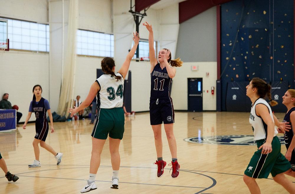 Girls JV Basketball vs. Putney School  - February 24, 2017 -  31773.jpg