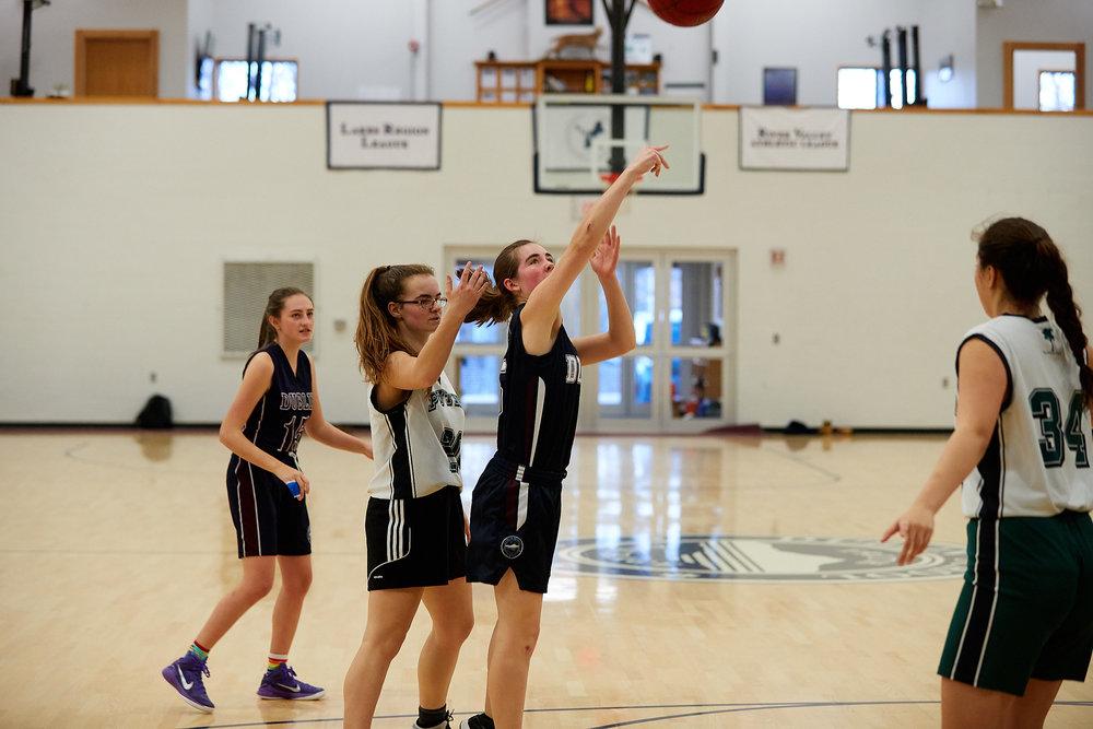 Girls JV Basketball vs. Putney School  - February 24, 2017 -  31780.jpg