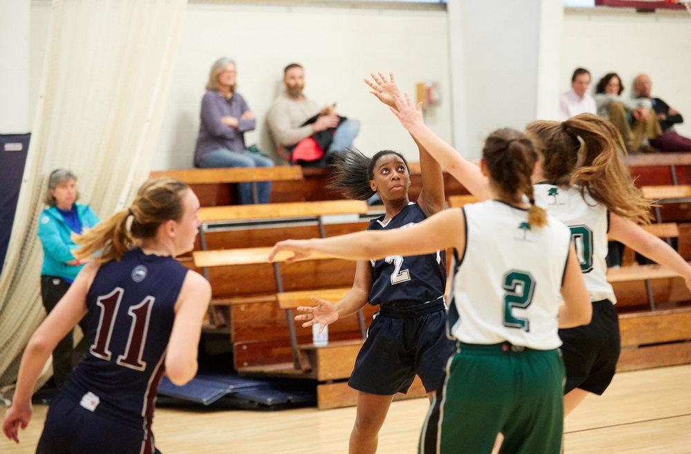 Girls JV Basketball vs. Putney School  - February 24, 2017 -  31789.jpg