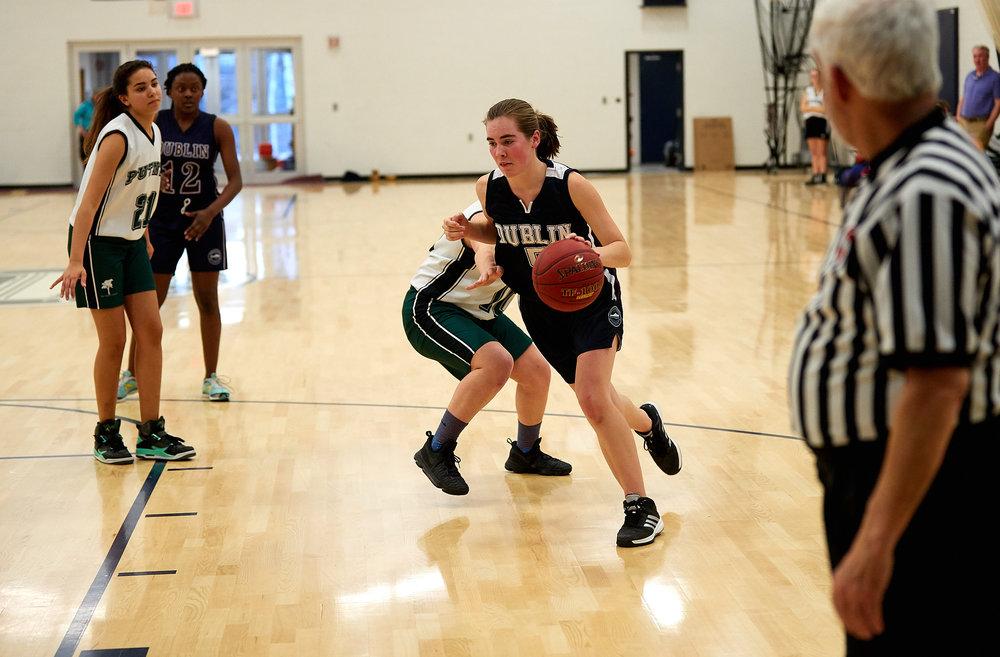 Girls JV Basketball vs. Putney School  - February 24, 2017 -  31833.jpg