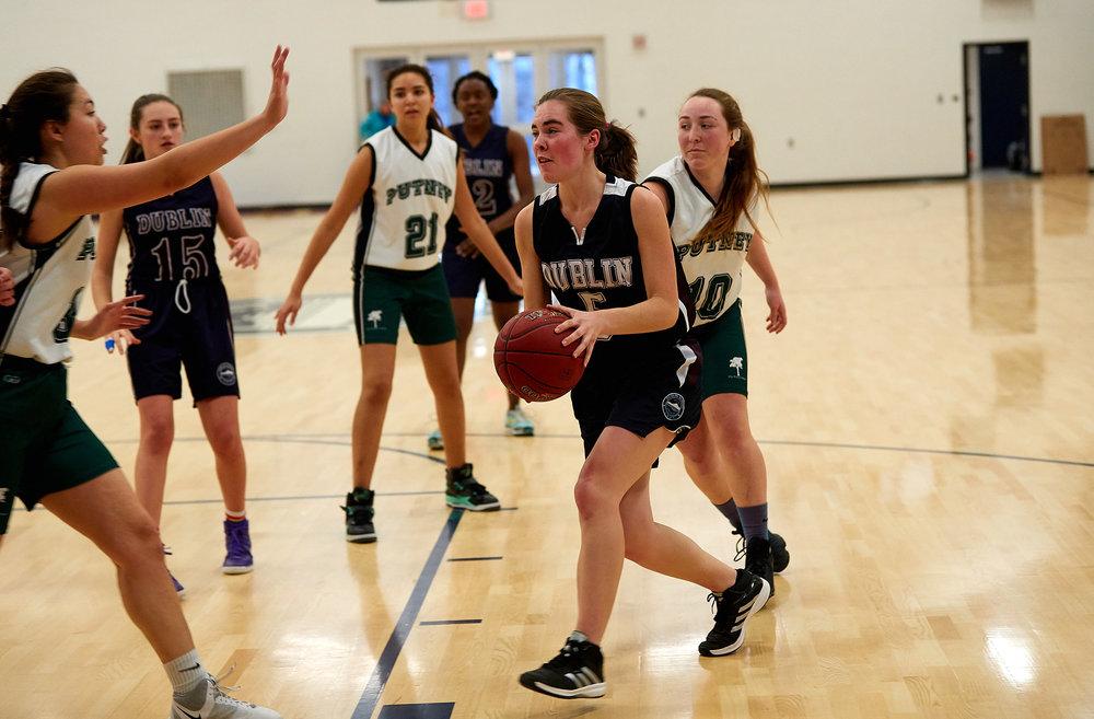 Girls JV Basketball vs. Putney School  - February 24, 2017 -  31839.jpg