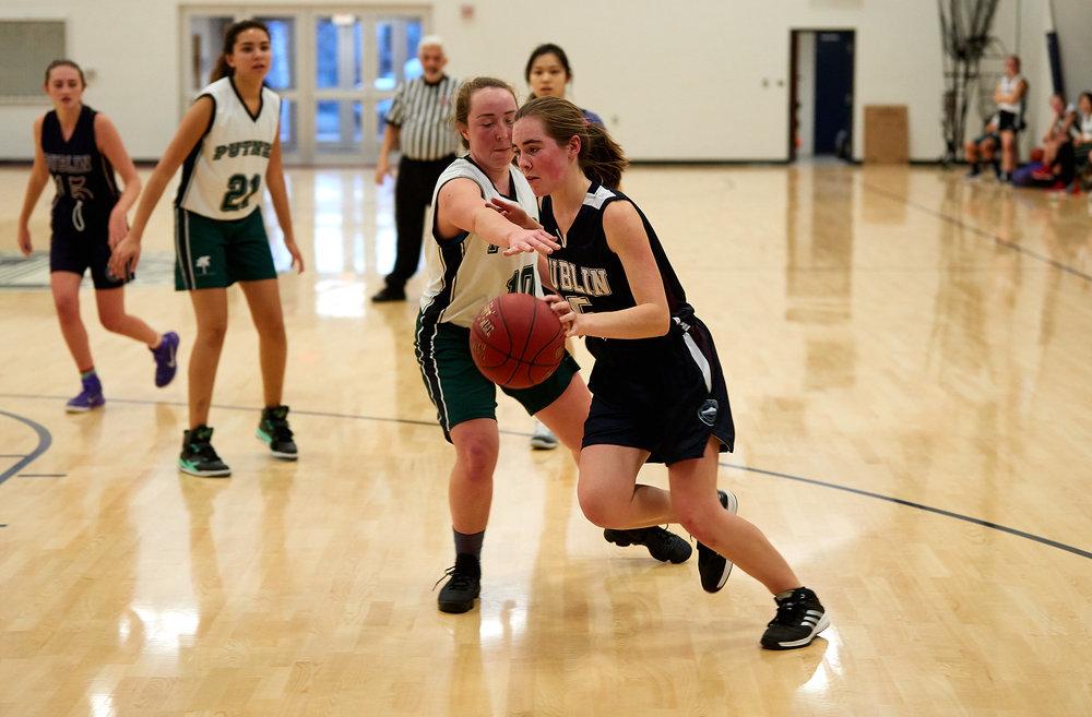 Girls JV Basketball vs. Putney School  - February 24, 2017 -  31865.jpg