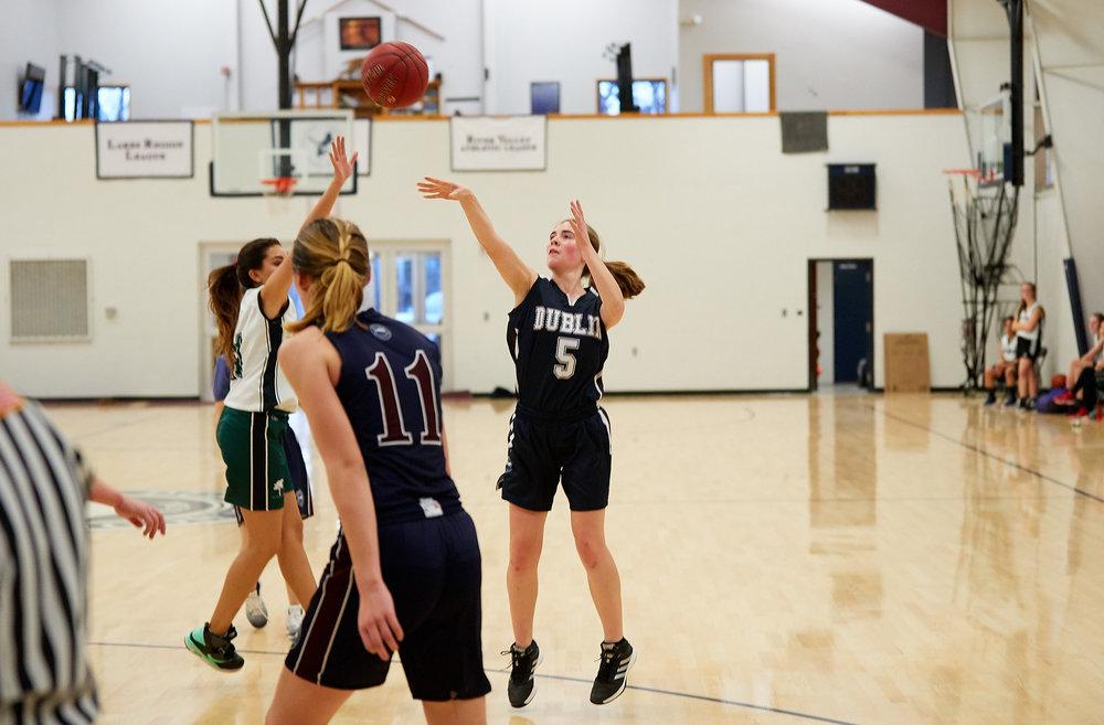 Girls JV Basketball vs. Putney School  - February 24, 2017 -  31878.jpg