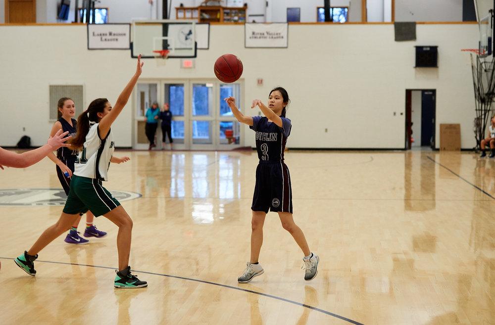 Girls JV Basketball vs. Putney School  - February 24, 2017 -  31881.jpg