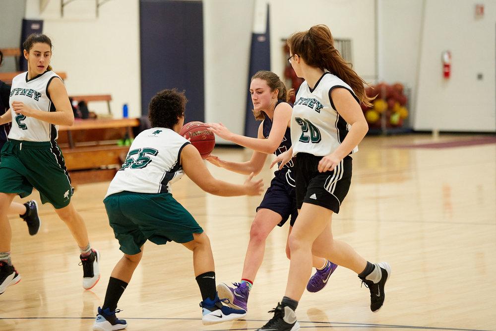 Girls JV Basketball vs. Putney School  - February 24, 2017 -  31896.jpg