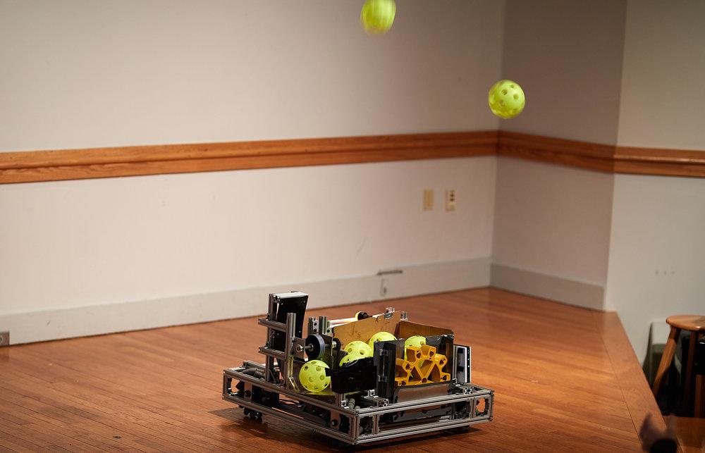 Practice robot.