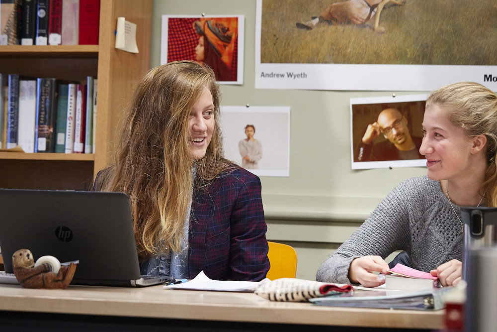 Sophia Rabb teaching 9th Grade English.