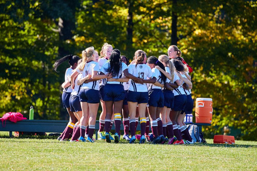 Girls' Soccer Team.