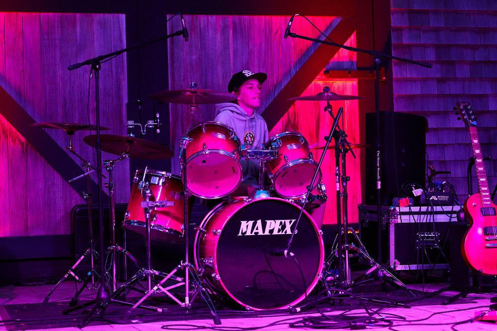 Grady Allen - Drums