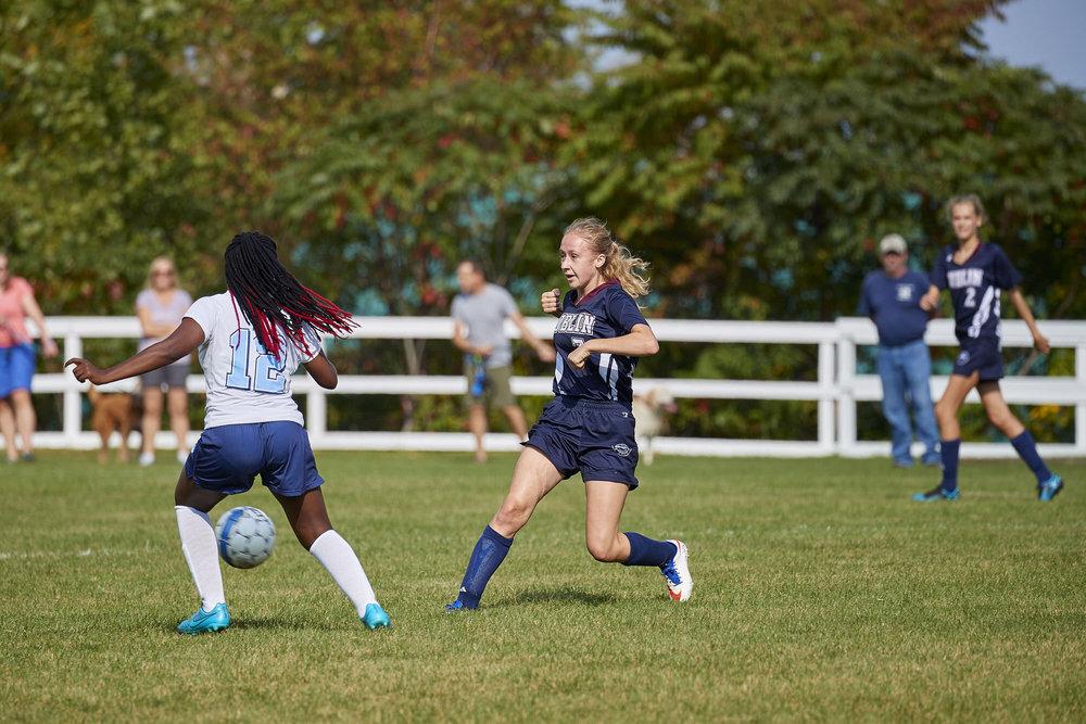 Girls Varsity Soccer vs. Stoneleigh Burnham School  - September 16, 2017  -044.jpg