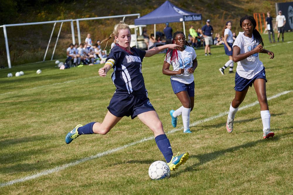 Girls Varsity Soccer vs. Stoneleigh Burnham School  - September 16, 2017  -050.jpg