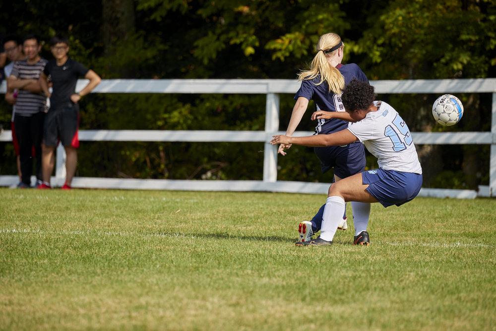 Girls Varsity Soccer vs. Stoneleigh Burnham School  - September 16, 2017  -052.jpg