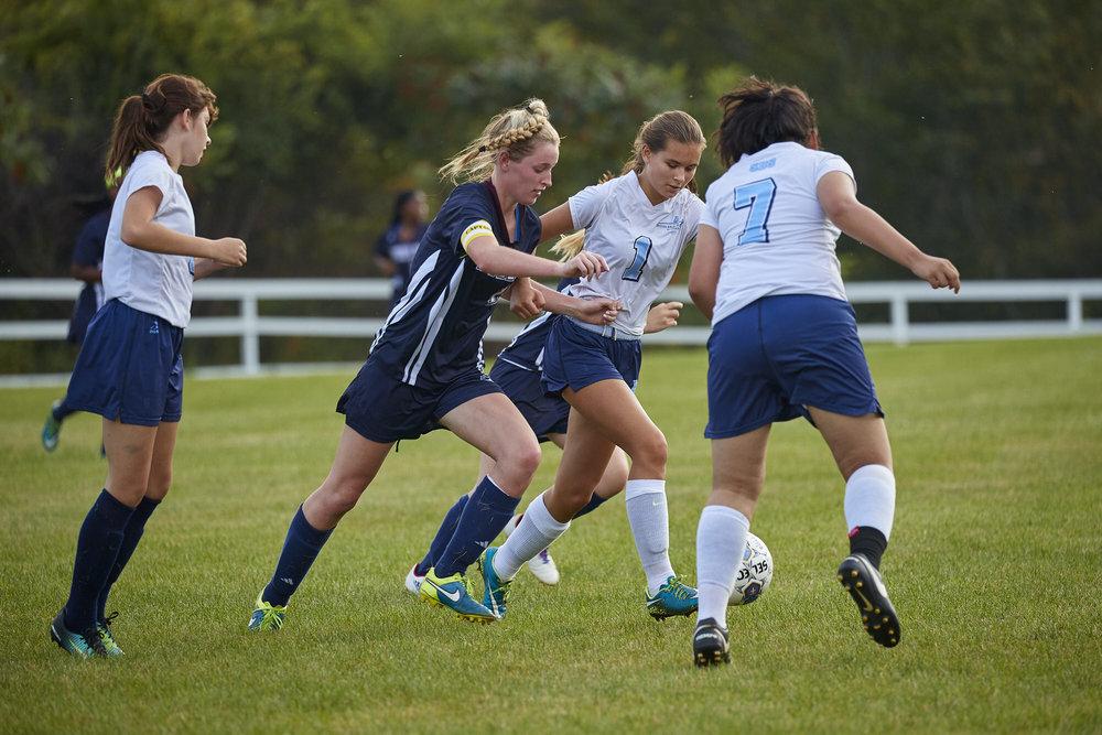 Girls Varsity Soccer vs. Stoneleigh Burnham School  - September 16, 2017  -073.jpg