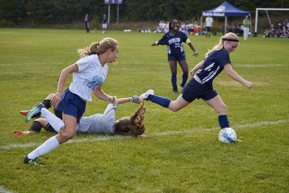 Girls Varsity Soccer vs. Stoneleigh Burnham School  - September 16, 2017  -084.jpg