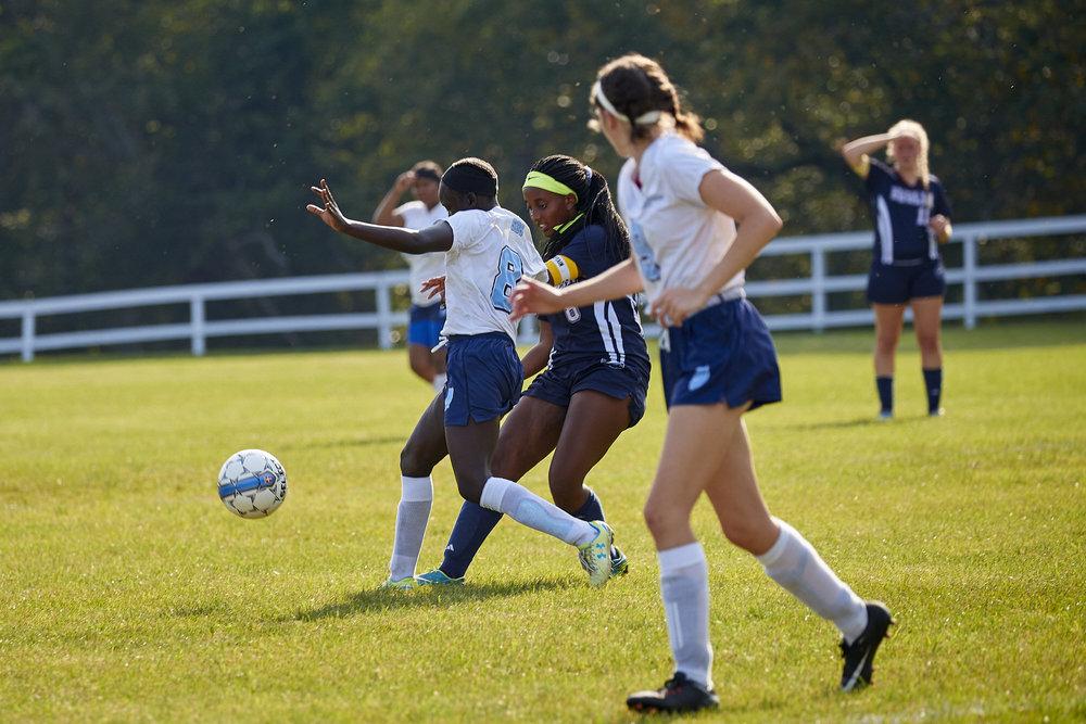 Girls Varsity Soccer vs. Stoneleigh Burnham School  - September 16, 2017  -089.jpg
